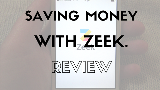 Saving Money With Zeek, App Review.
