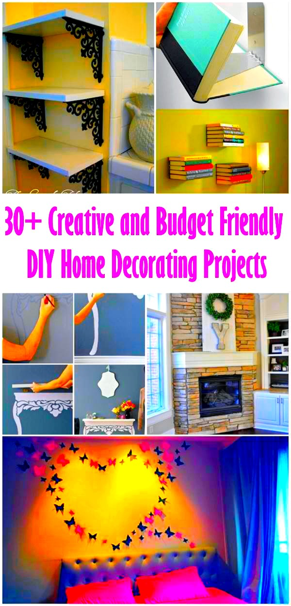 8 Creative and Budget Friendly Home Decorating Projects
