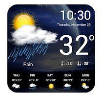 Weersvoorspelling App Download