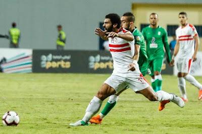 العوده من جديد للاعب الزمالك محمود عبد العزيز بعد التعافي من الصليبي