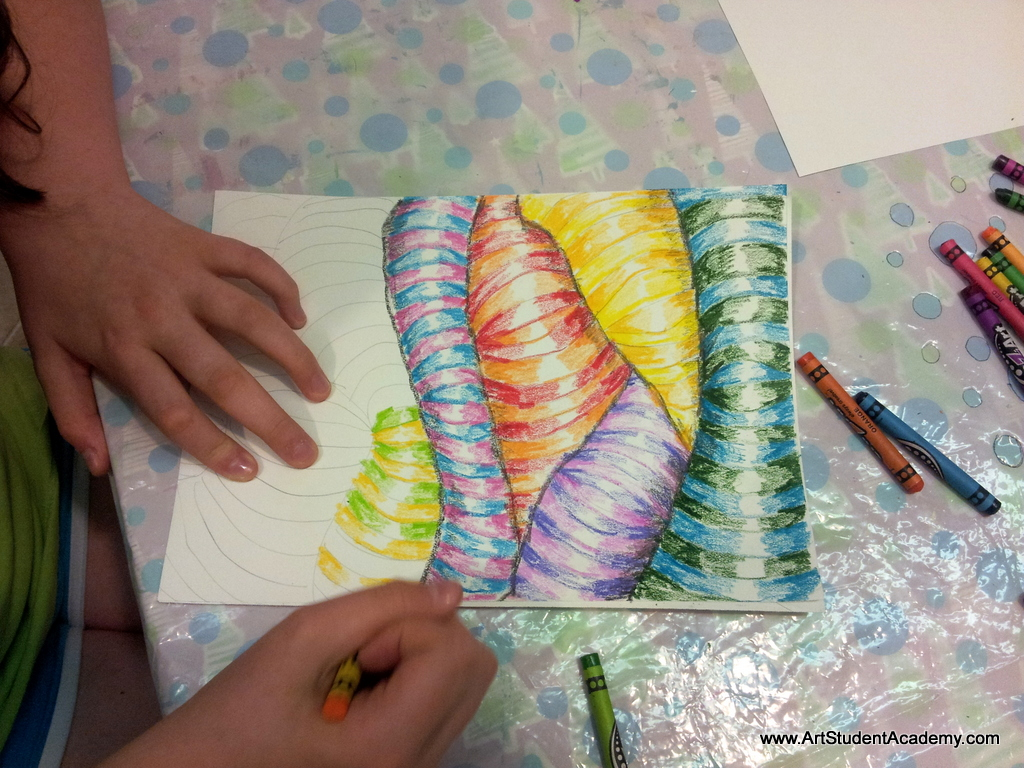 Artsy Journeys Creativity With Crayons