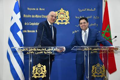 """الوزير الخارجية اليوناني: مبادرة الحكم الذاتي """"مقاربة جدية وذات مصداقية"""" لحل قضية الصحراء"""