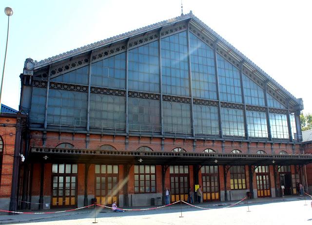 Museo del ferrocarril. Estación de Delicias. Madrid