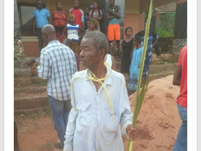[Unbelievable] See what happened to the man that impregnated his daughter twice in Anambra.