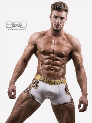 Danny Miami Royal White Boxer Underwear Multi Gayrado Online Shop