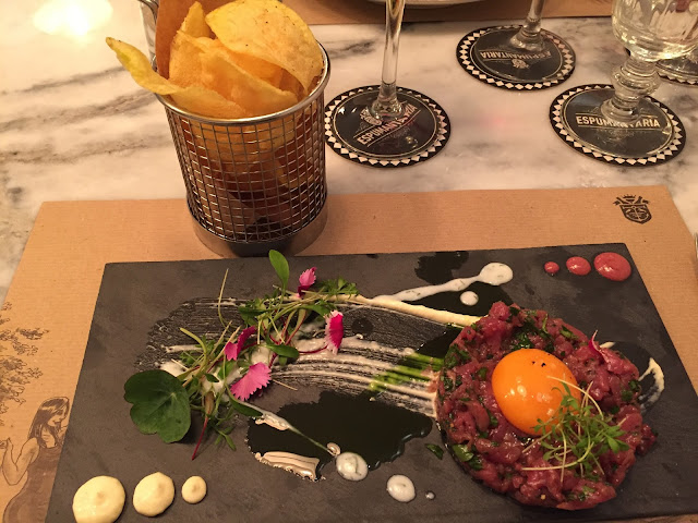 My Steak Tartare at Espumantaria, Lisbon
