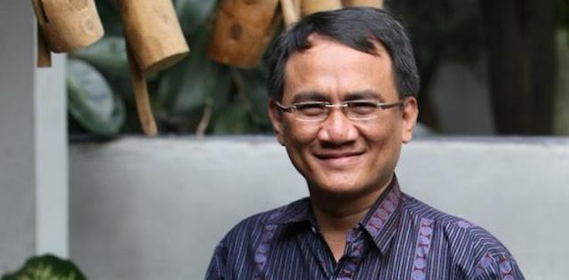 Andi Arief: Untung Anies Baswedan Selamatkan Muka Indonesia