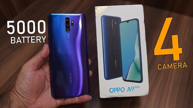 merupakan smartphone yang dibekali dengan  Oppo A9 2020 - Spesifikasi Tinggi, Harga Ramah Kantong!