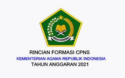 Formasi CPNS Kementerian Agama Tahun 2021