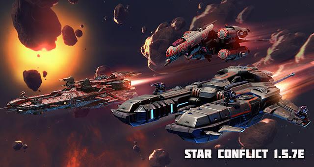В Star Conflict установлено обновление 1.5.7d