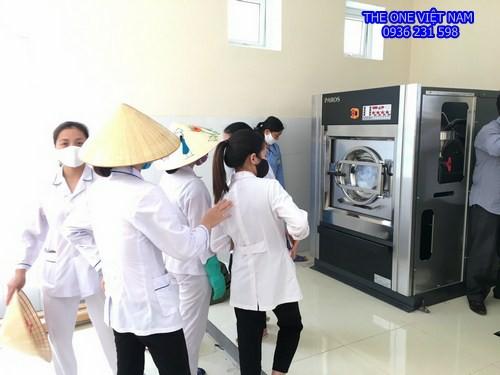Máy giặt sấy công nghiệp cho bệnh viện Thanh Hóa