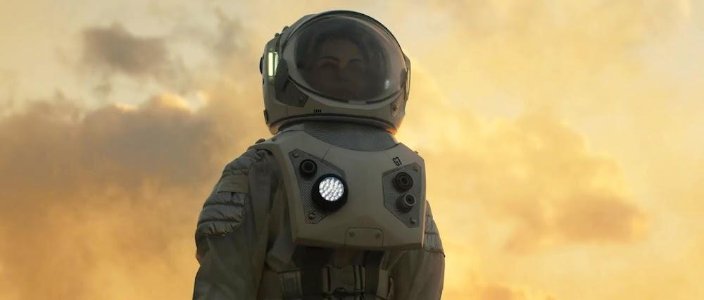 Astronaut in TerraGenesis game