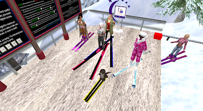 Ski Jumping in Second Life