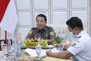 Gubernur Arinal Jalin Komunikasi Pengembangan Kawasan Kesehatan di Bandara Radin Inten II