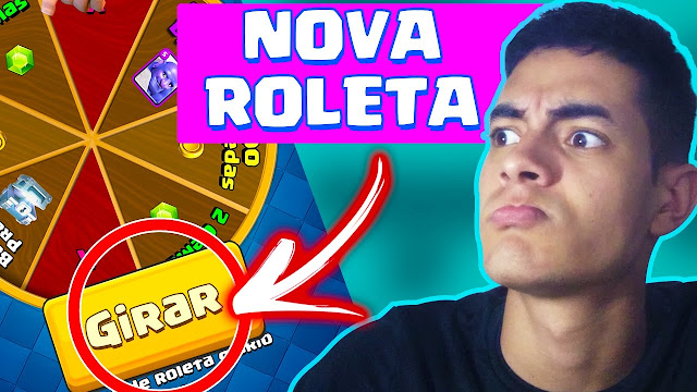 Roleta no Clash Royale