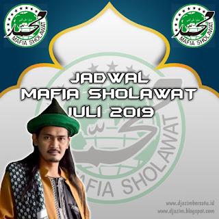 Jadwal Mafia Sholawat Bulan ini (Juli 2019) Bersama Abah Ali Gondrong