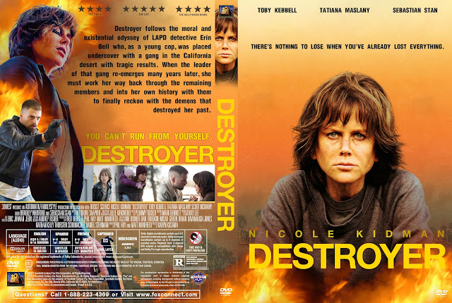 Destroyer DVD Cover