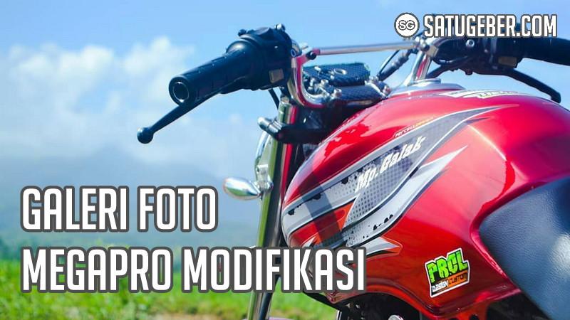 kumpulan gambar Megapro modifikasi