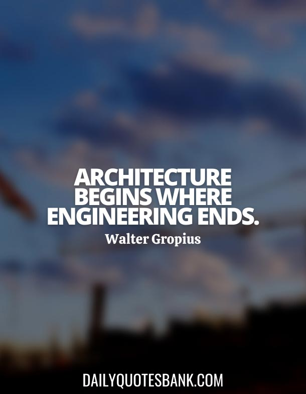 Short Quotes About Civil Engineering