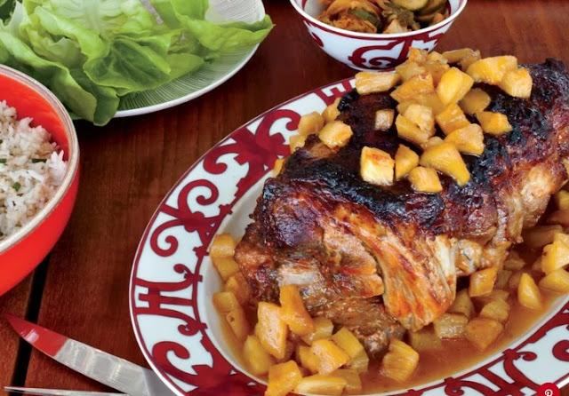 Slow Cooker Pineapple Pork Loin #dinner #slowcooker