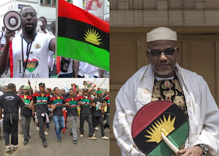 Biafra: UK must produce Kanu to face trial in Nigeria, protesters storm British High Commission.