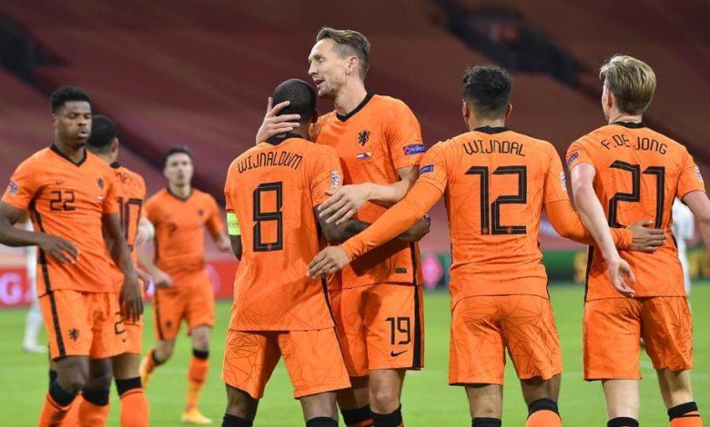 موعد مباراة هولندا واوكرانيا يورو 2020