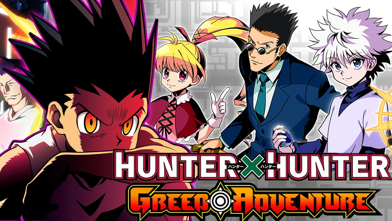 Hunter X Hunter Greed Adventure Vem Ai!