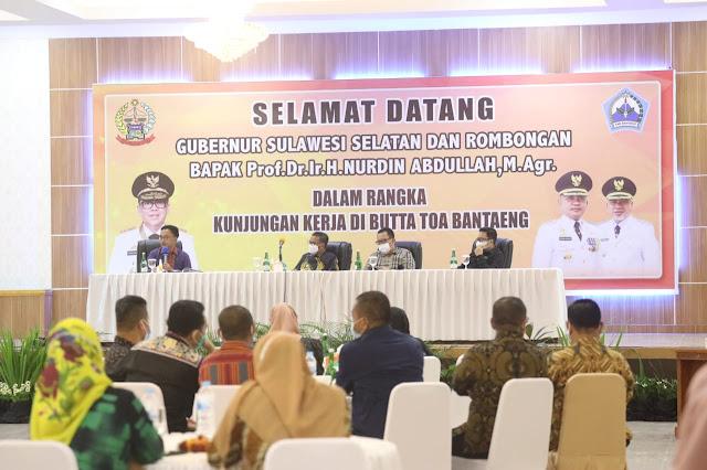 Ilham Azikin Paparkan Rencana Program 2021, Gubernur: Bantaeng Lebih Trendi