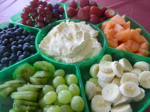 Rainbow Party Food, Colorful Fruit Tray