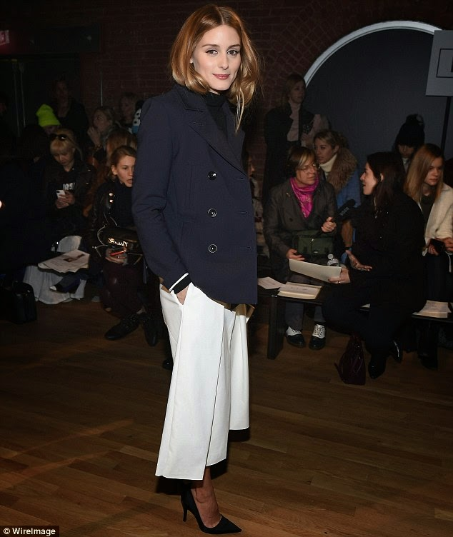 Olivia Palermo At New York Fashion Week II