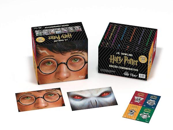 Harry Potter: edições comemorativas de 20 anos