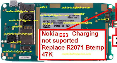 Solusi Nokia E63 Nοt Charging , Charging nοt hеƖ&#1088