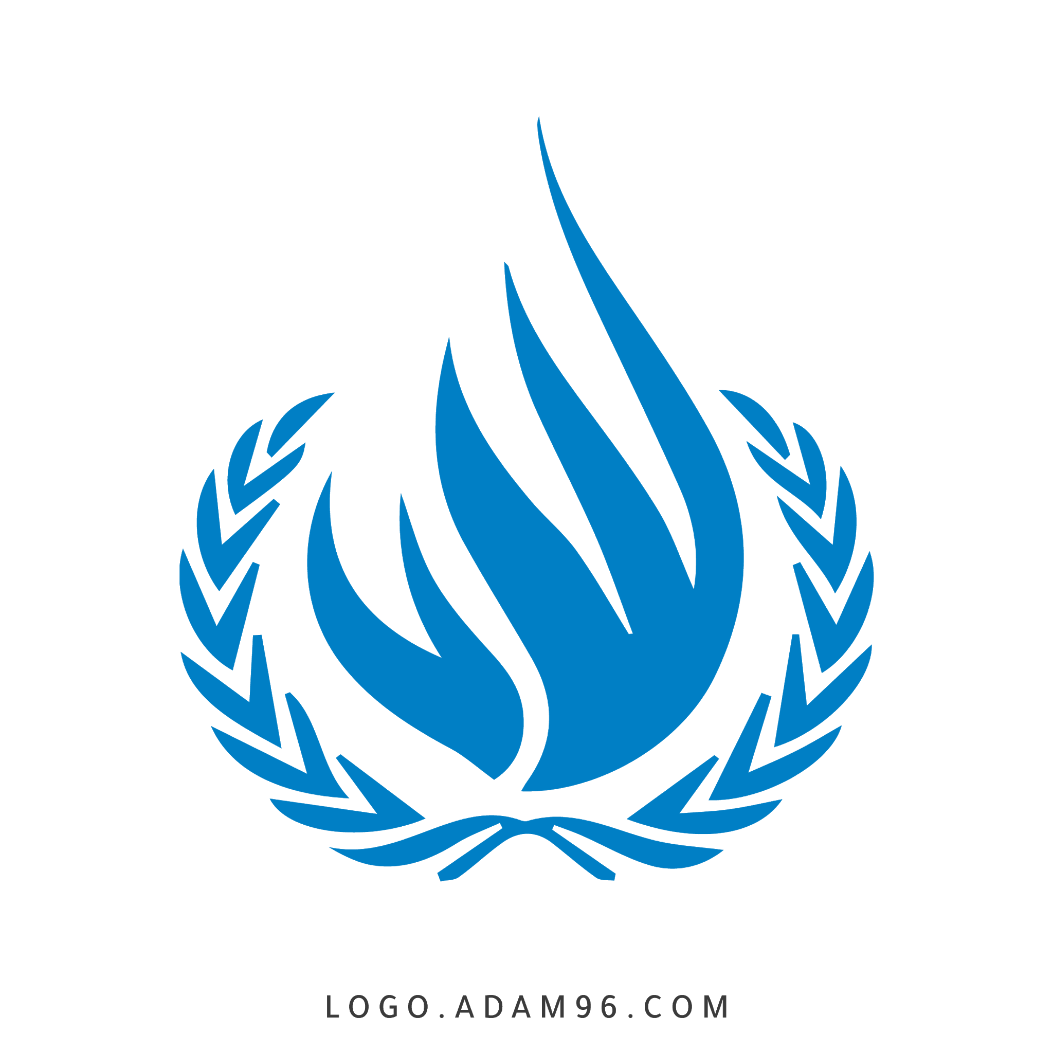 تحميل شعار منظمة حقوق الانسان الرسمي بدقة عالية بدون خلفية PNG