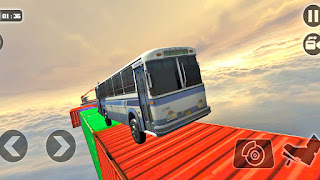 Impossible Bus High Sky Stunt Tracks Race