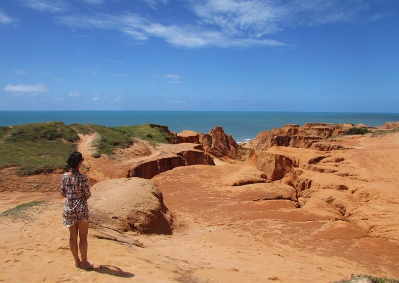 Passeio Três Praias Fortaleza: Morro Brancos, Praia das Fontes, Canoa Quebrada