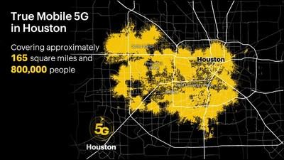 Sprint lanza la verdadera red móvil 5G en Houston