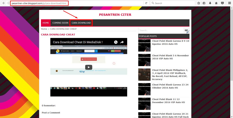 Kunena :: Topic: download cheat pb garena update terbaru (1/1)