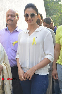 Actress Rakul Preet Singh at Endometriosis Awareness Walk at Apollo Cradle  0055.jpg