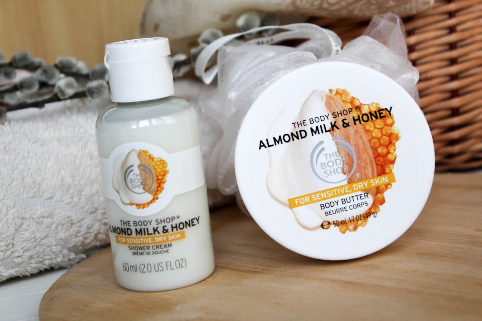 b9ec8e9ee746e Блог Натальи Белогловской: The Body Shop. Almond Milk and Honey ...