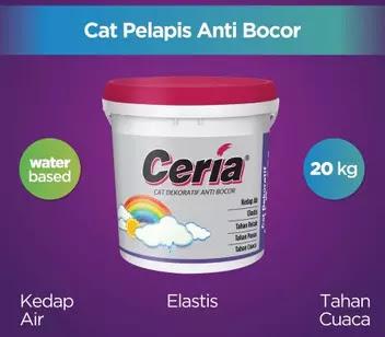 Ceria CR-6000 Cat Dekoratif Anti Bocor
