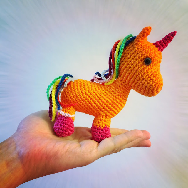 Amigurumi Unicorn-Free Pattern