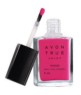 Avon True Color Nail Wear Pro+ Nail Enamel - Savage - MRP 149