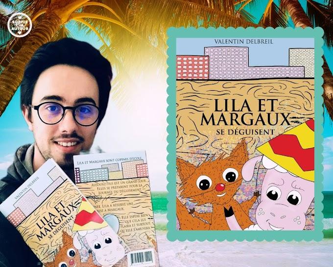 Avis de lecture : Lila et Margaux se déguisent, de Valentin Delbreil