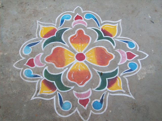 Sankranthi Muggulu Designs Without Dots