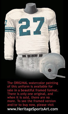 Detroit Lions 1957 uniform