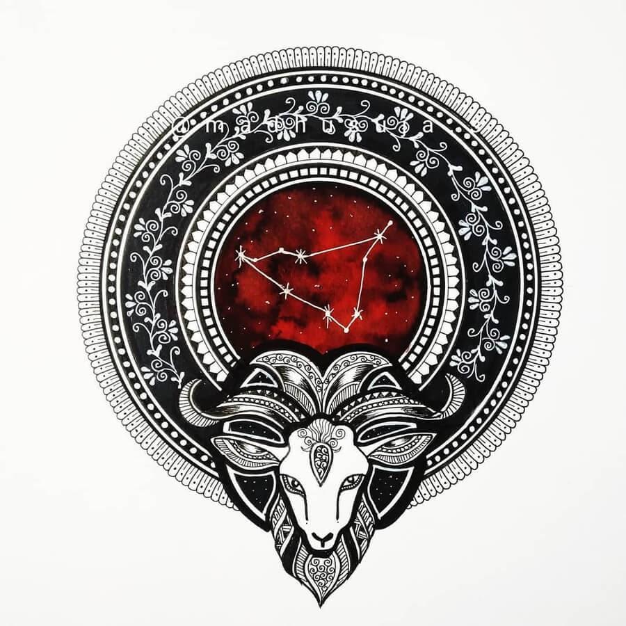 10-Zodiac-sign-Capricorn-Madhusuja-www-designstack-co