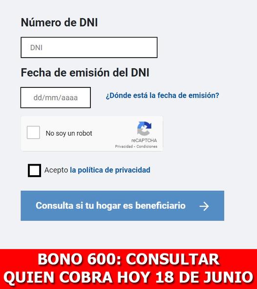 Bono Familiar Universal Y 600 Soles: LINK Y Cómo Ver Con DNI Quién Puede Cobrarlo El 18 De Junio
