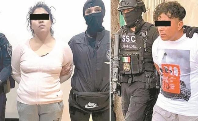 """Vinculan a proceso a Diana Karen""""La Princesa de Tláhuac"""" y """"El Cindy"""" del Cártel de Tláhuac"""