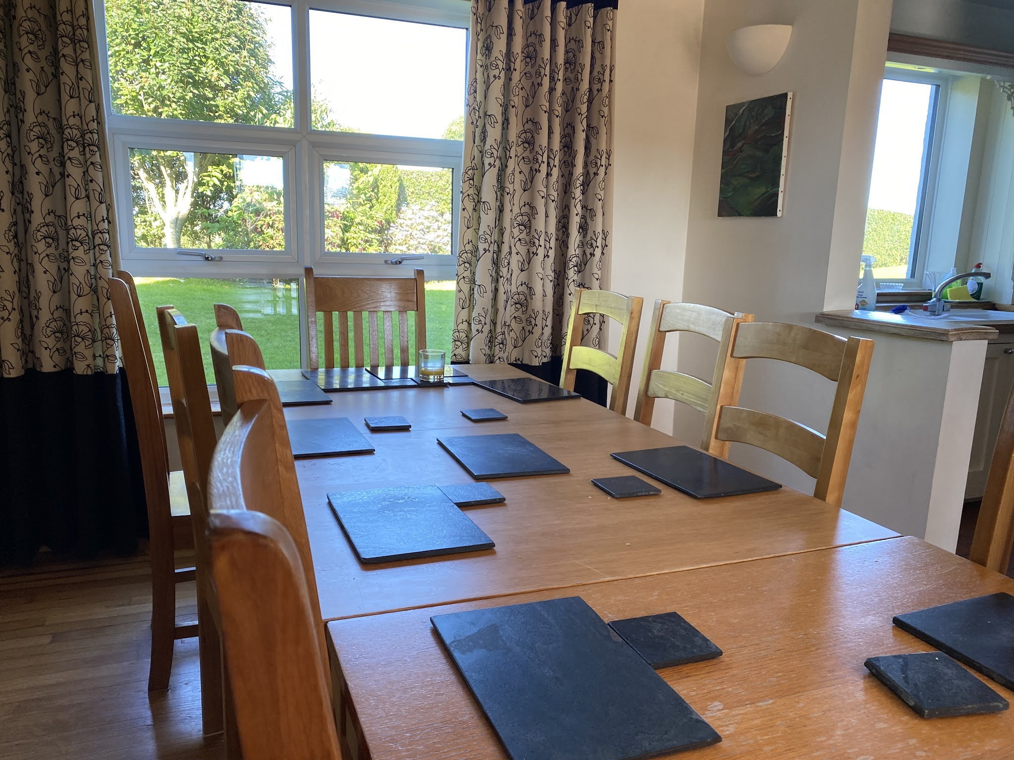 Snowdonia View Farmhouse - Dining Room