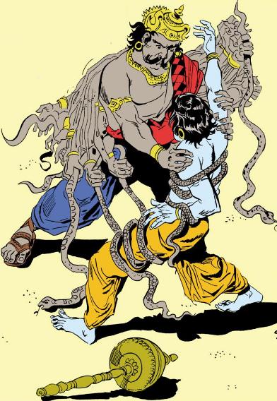 Vanasura and Aniruddha